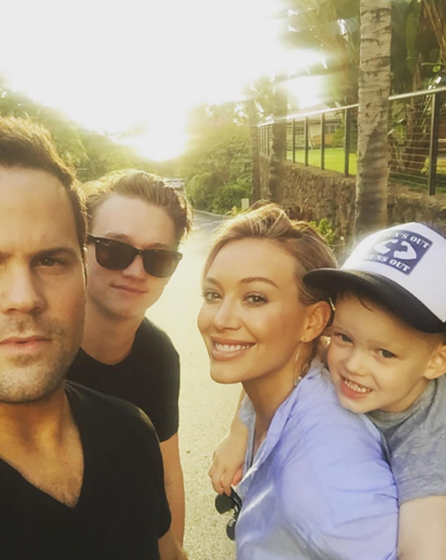 Hilary Duff, Mike Comrie, Instagram
