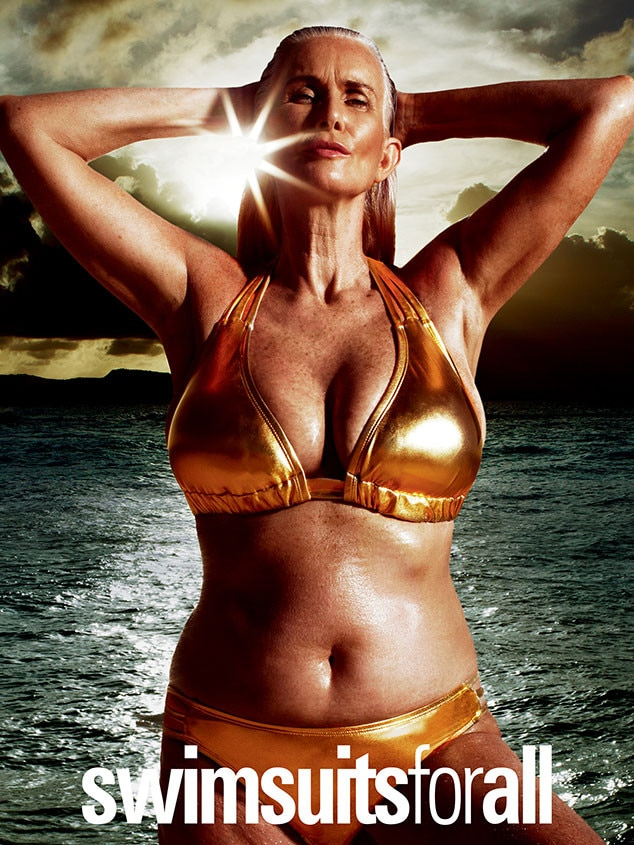 Nicola Griffin, Swimsuitsforall Campaign, Bikini Photo