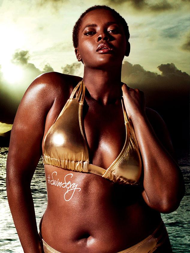 Philomena Kwao, Swimsuitsforall Campaign, Bikini Photo