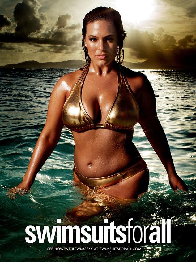 Ashley Graham, Swimsuitsforall Campaign, Bikini Photo