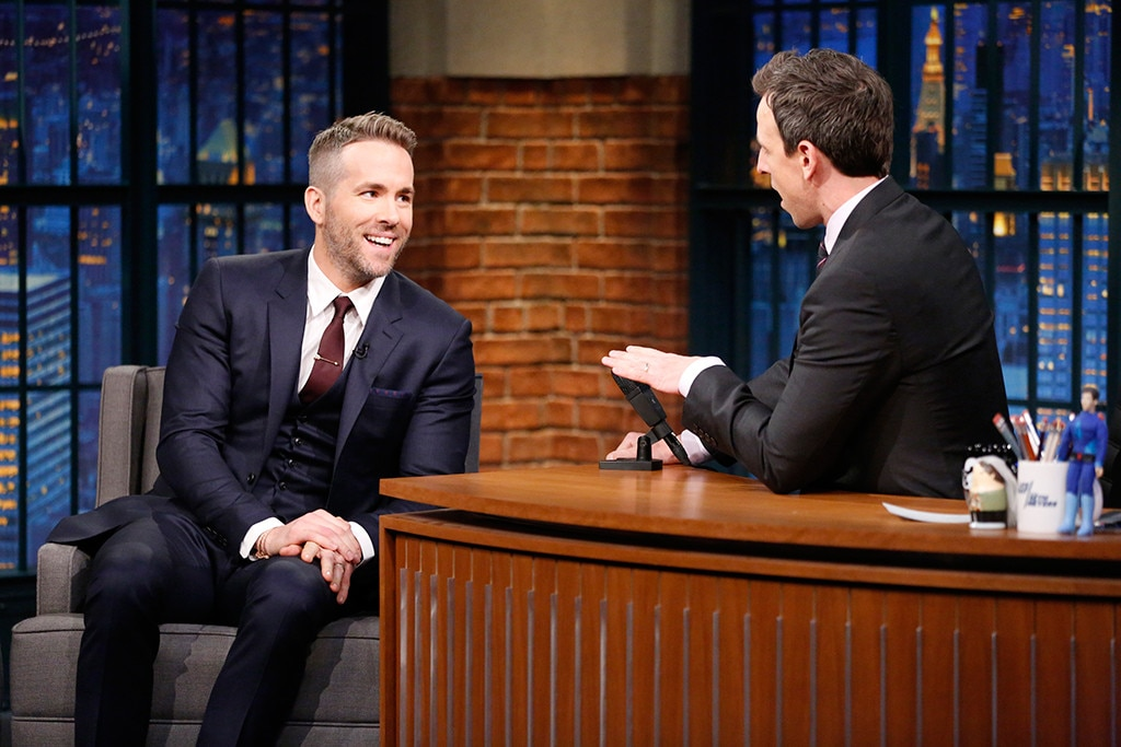 Ryan Reynolds, Seth Meyers