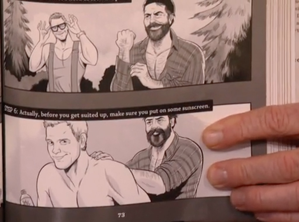 Nick Offerman, Chris Pratt, Conan O'Brien, Conan