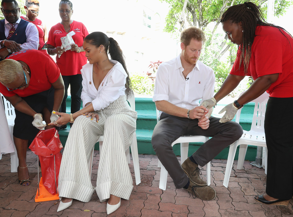 Rihanna, Prince Harry