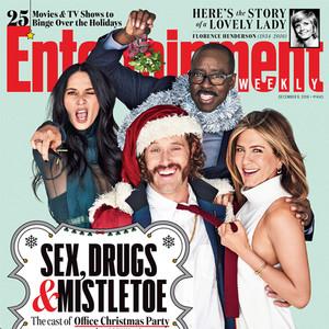 Jennifer Aniston, T.J. Miller, Courtney B. Vance, Olivia Munn, Entertainment Weekly