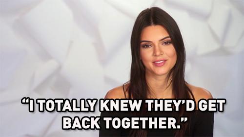 Kendall Jenner, KUWTK, KUWTK 1112