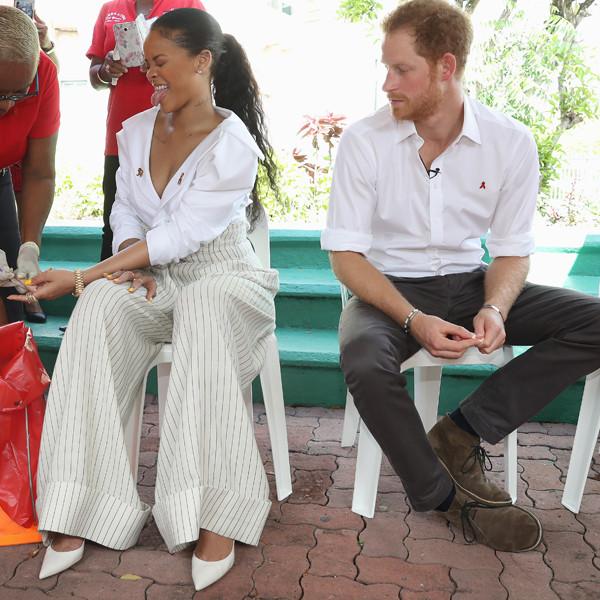 Rihanna, Prince Harry