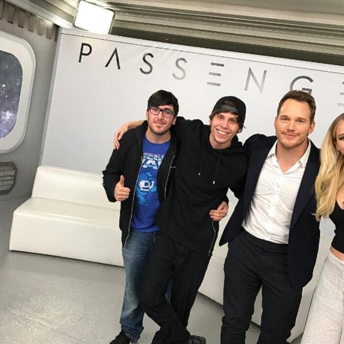 Chris Pratt, Jennifer Lawrence, Passengers