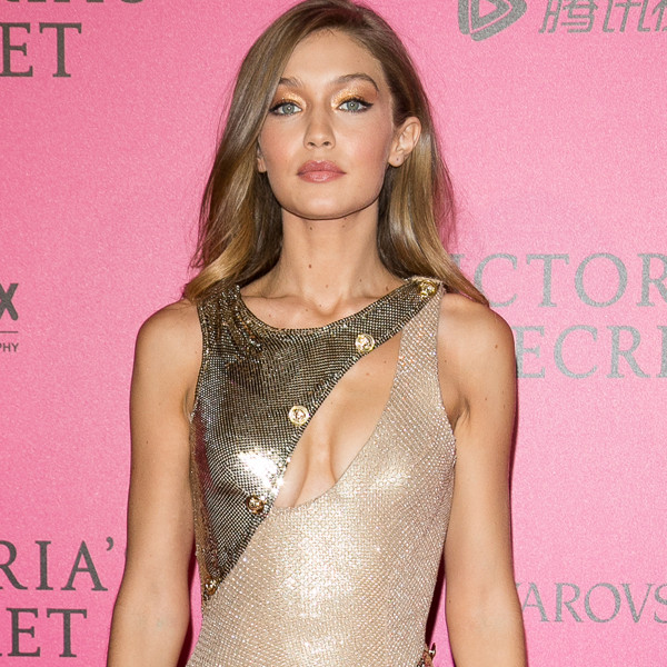 Gigi Hadid, Victoria's Secret Pink Carpet