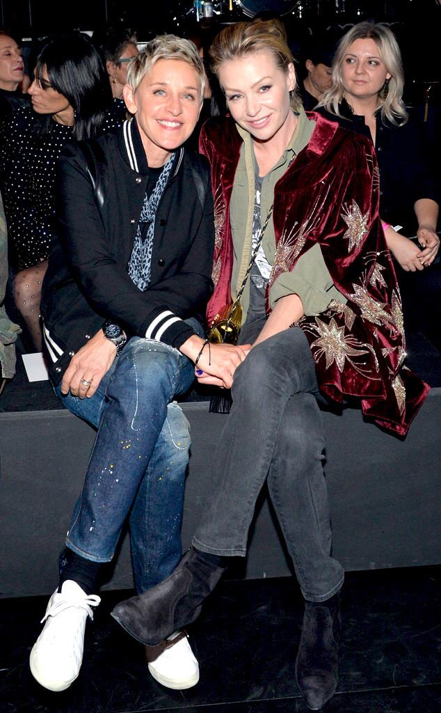 Portia De Rossi 2004 Ellen DeGeneres and Po...