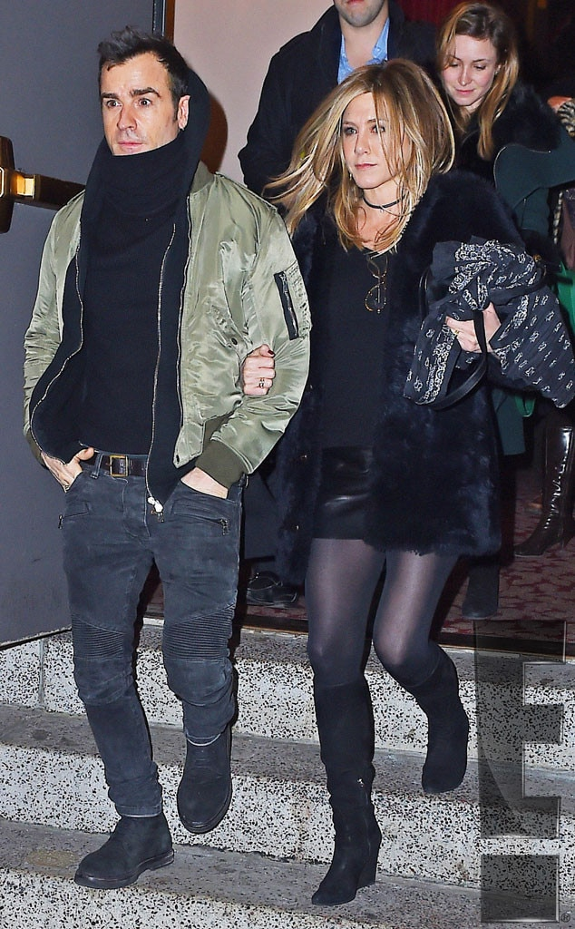 Jennifer Aniston, Justin Theroux, Exclusive