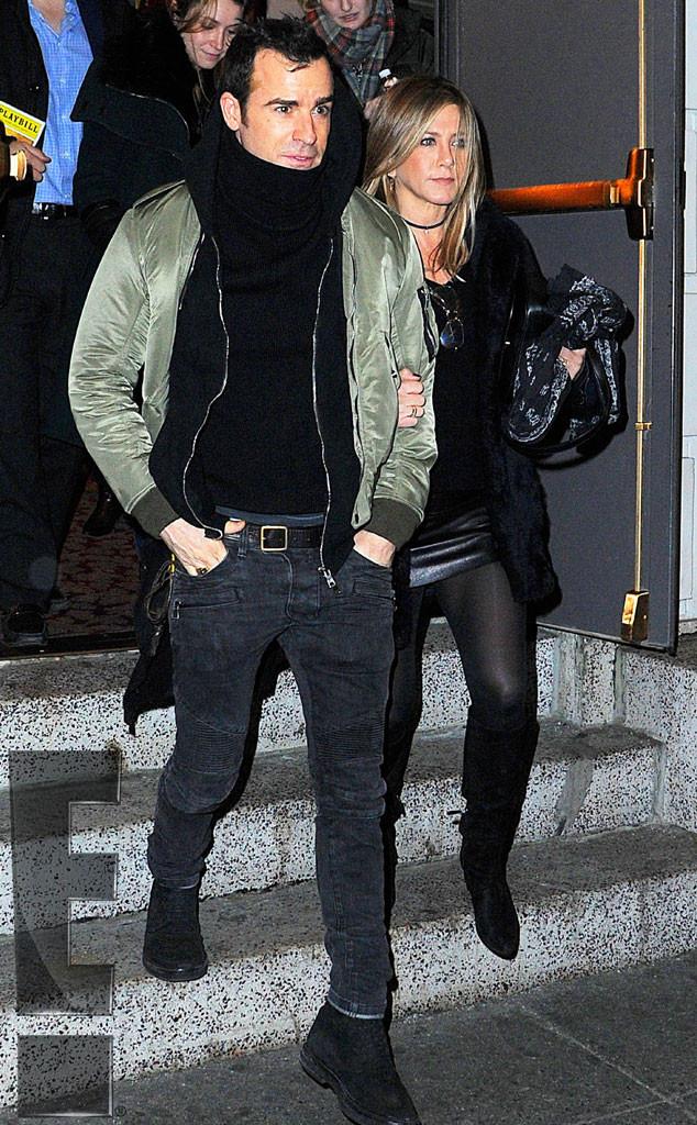 Jennifer Aniston, Justin Theroux, Exclusive