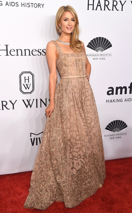Paris Hilton, amfAR
