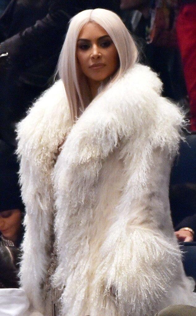 Kim Kardashian, NYFW, Yeezy