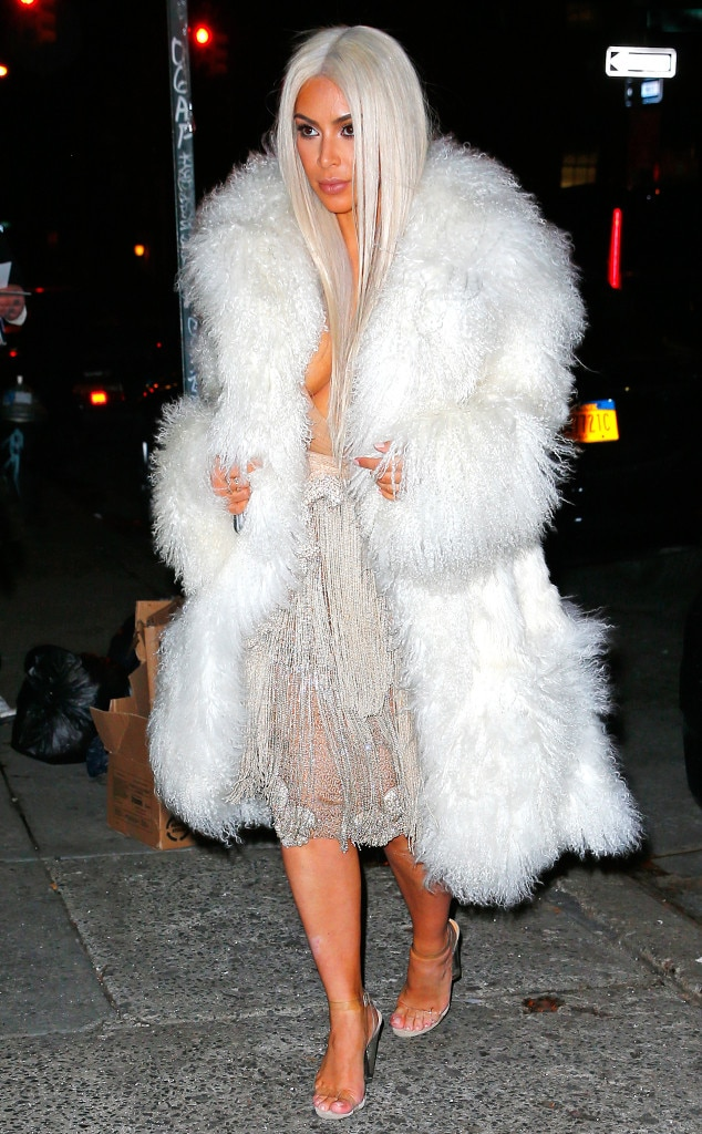 It's Cruella de Vil 2.0 as Kim Kardashian Wears Yet Another ...
