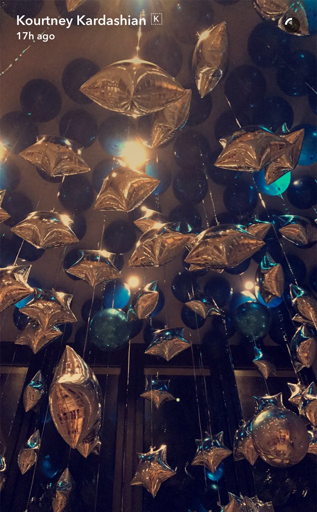 Kourtney Kardashian, Balloons