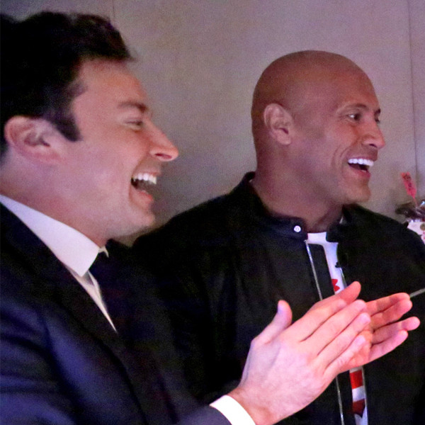 Dwayne Johnson & Jimmy Fallon Reunite Military Family in Video That Will Make You Cry