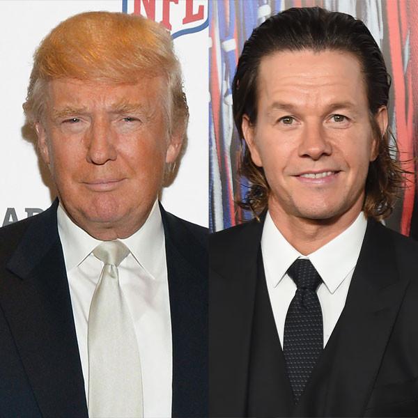 Donald Trump, Mark Wahlberg