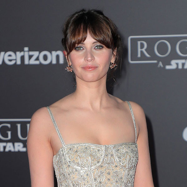 Rogue One Premiere, Felicity Jones