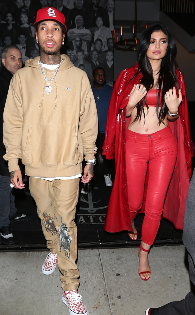 shekinah and kylie dating tyga