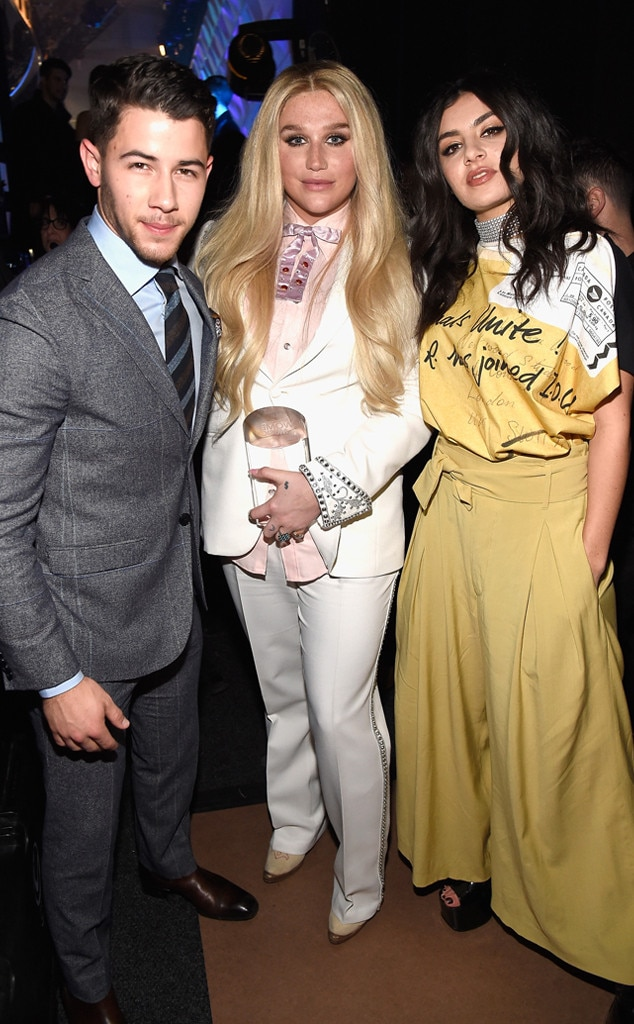 Kesha, Nick Jonas, Charli XCX