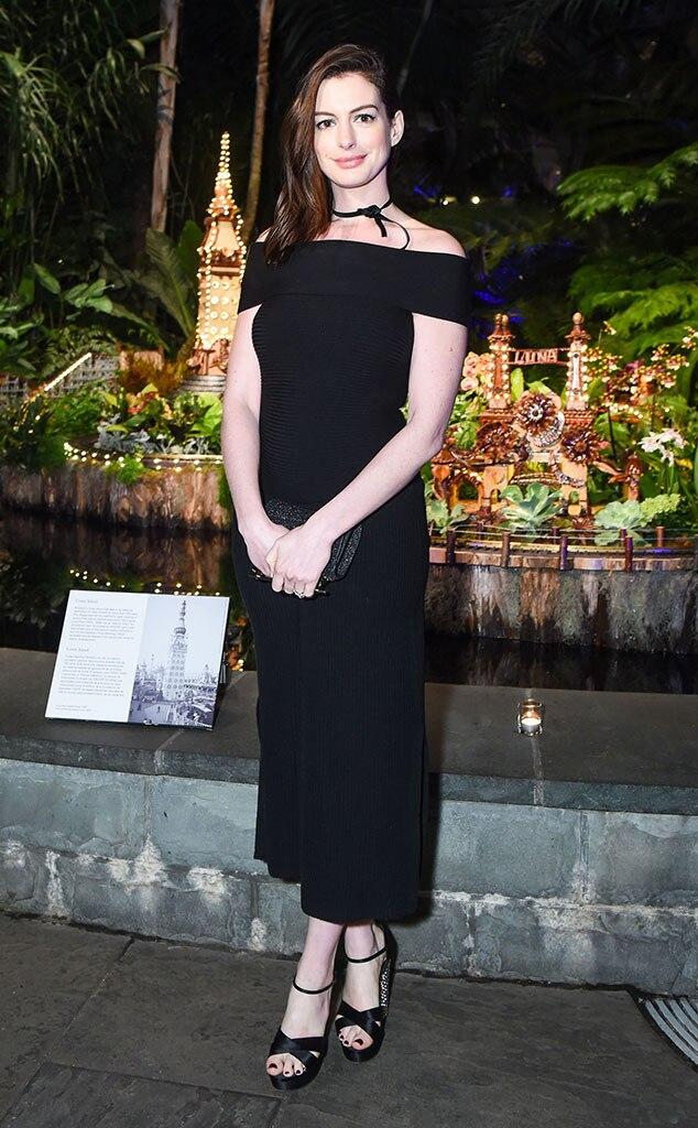 Anne Hathaway, Winter Wonderland Ball