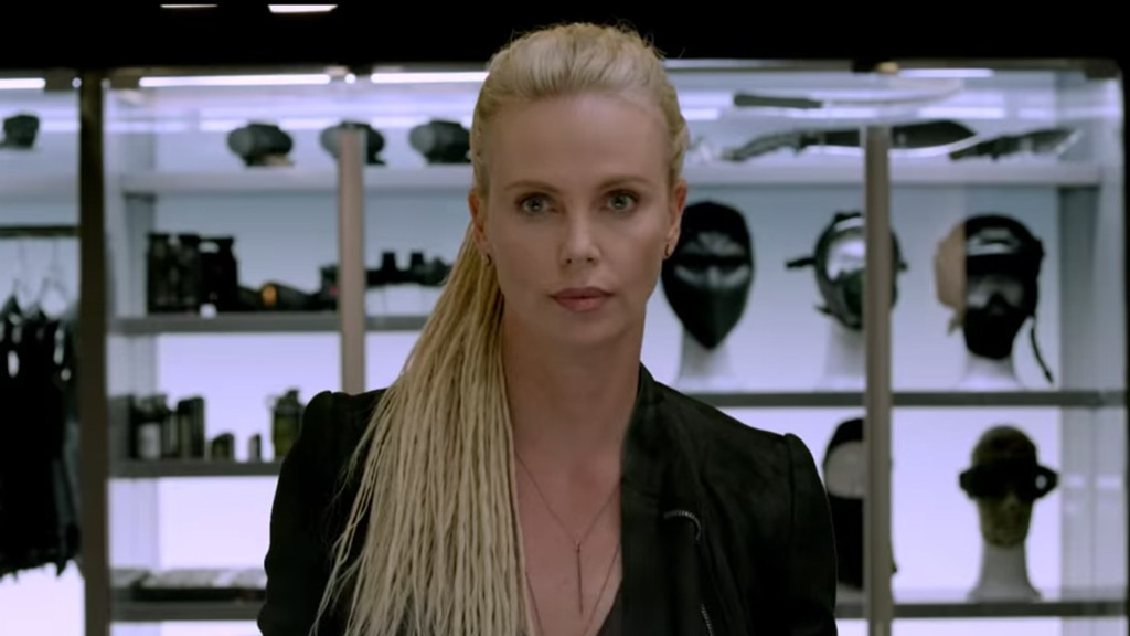 Image result for charlize theron fate of the furious