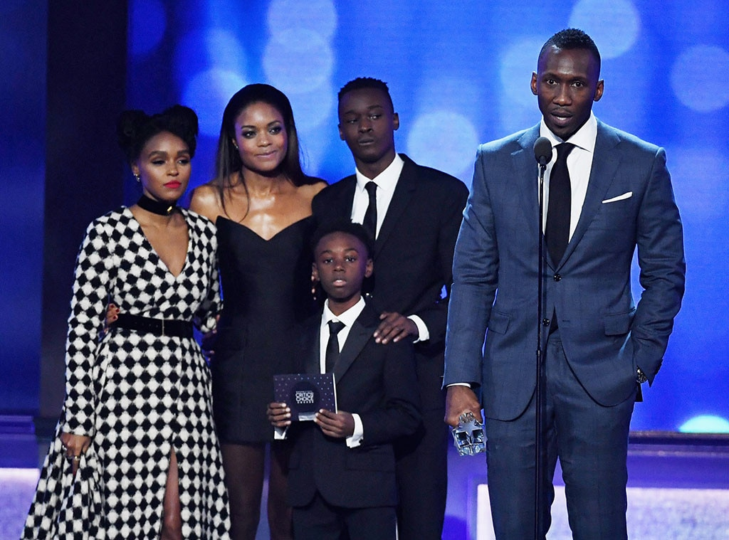 22nd Critics' Choice Awards, Winners, Janelle Monae, Naomie Harris, Alex R. Hibbert, Ashton Sanders, Moonlight