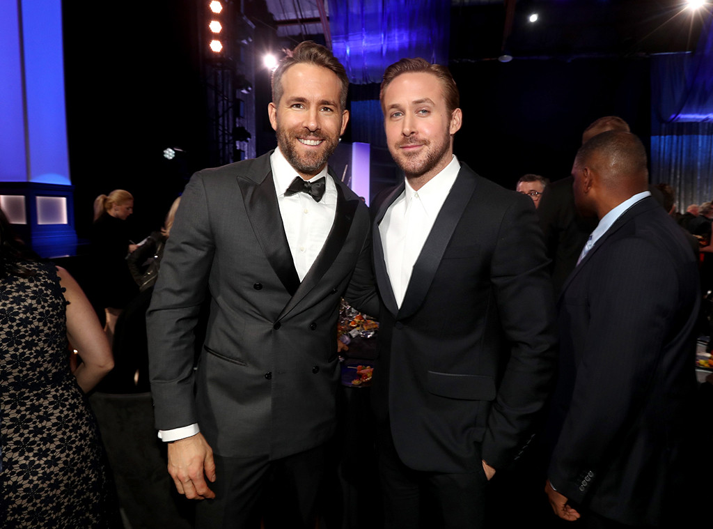 22nd Critics Choice Awards, Show, Ryan Reynolds, Ryan Gosling