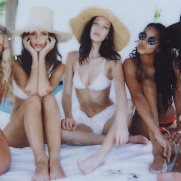 Gizele Oliveira, Bella Hadid, Kendall Jenner, Bahamas