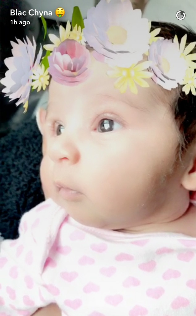 Dream Kardashian, 1 Month Old, Snapchat