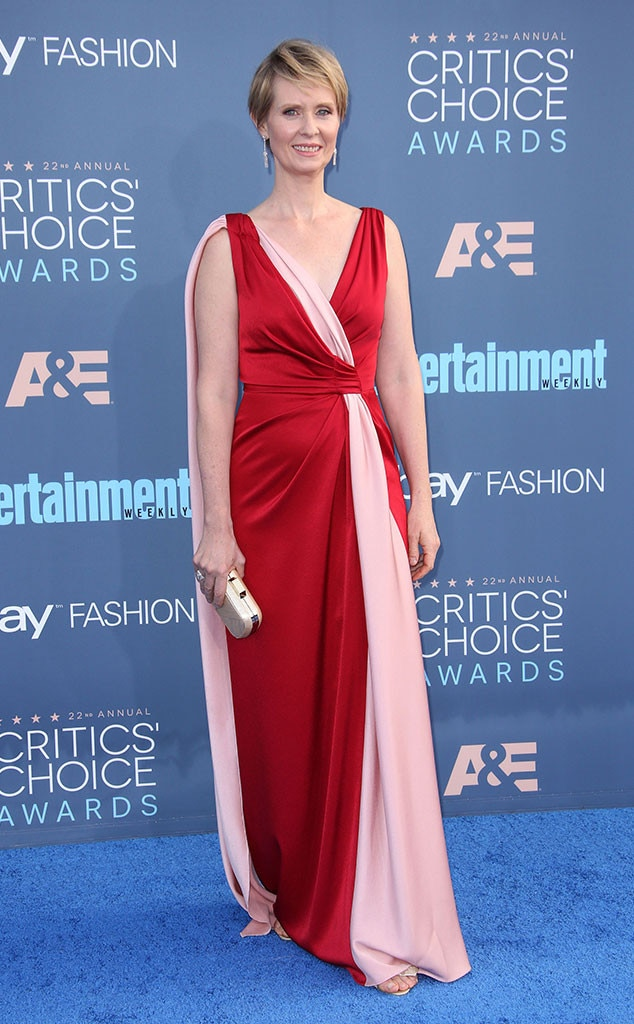 22nd Critics' Choice Awards, Cynthia Nixon, Arrivals