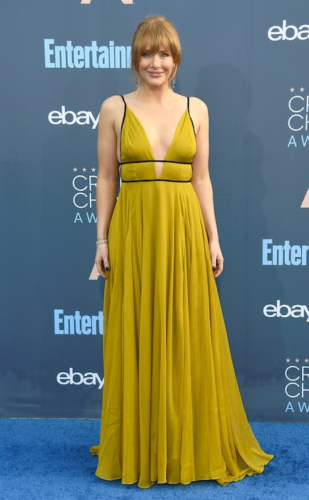 22nd Critics' Choice Awards, Arrivals, Bryce Dallas Howard