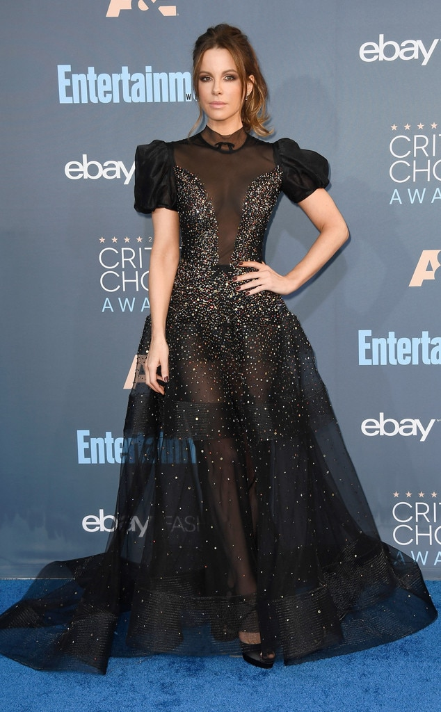 22nd Critics' Choice Awards, Arrivals, Kate Beckinsale
