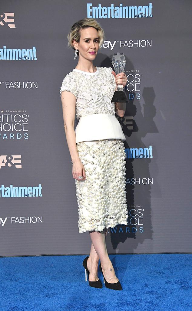 22nd Critics' Choice Awards, Winners, Sarah Paulson