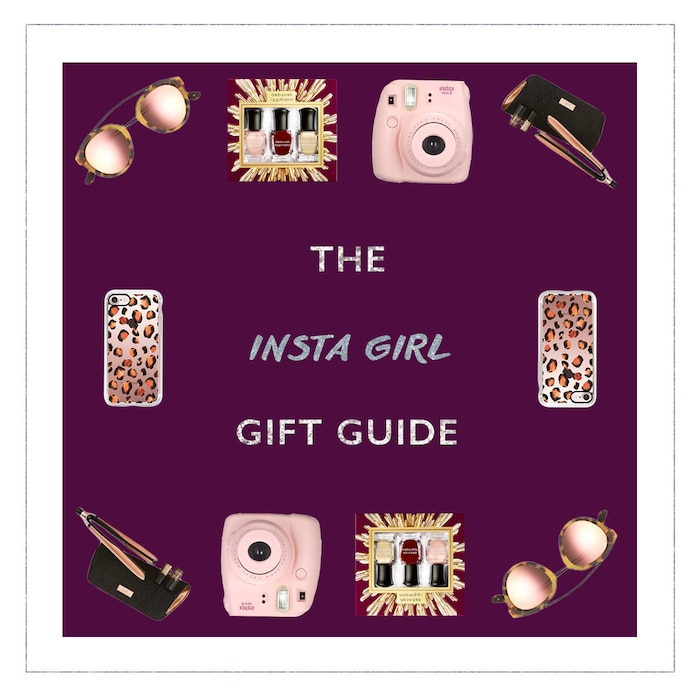 ESC: 2016 Gift Guide, Insta Girl, Grid, Widget