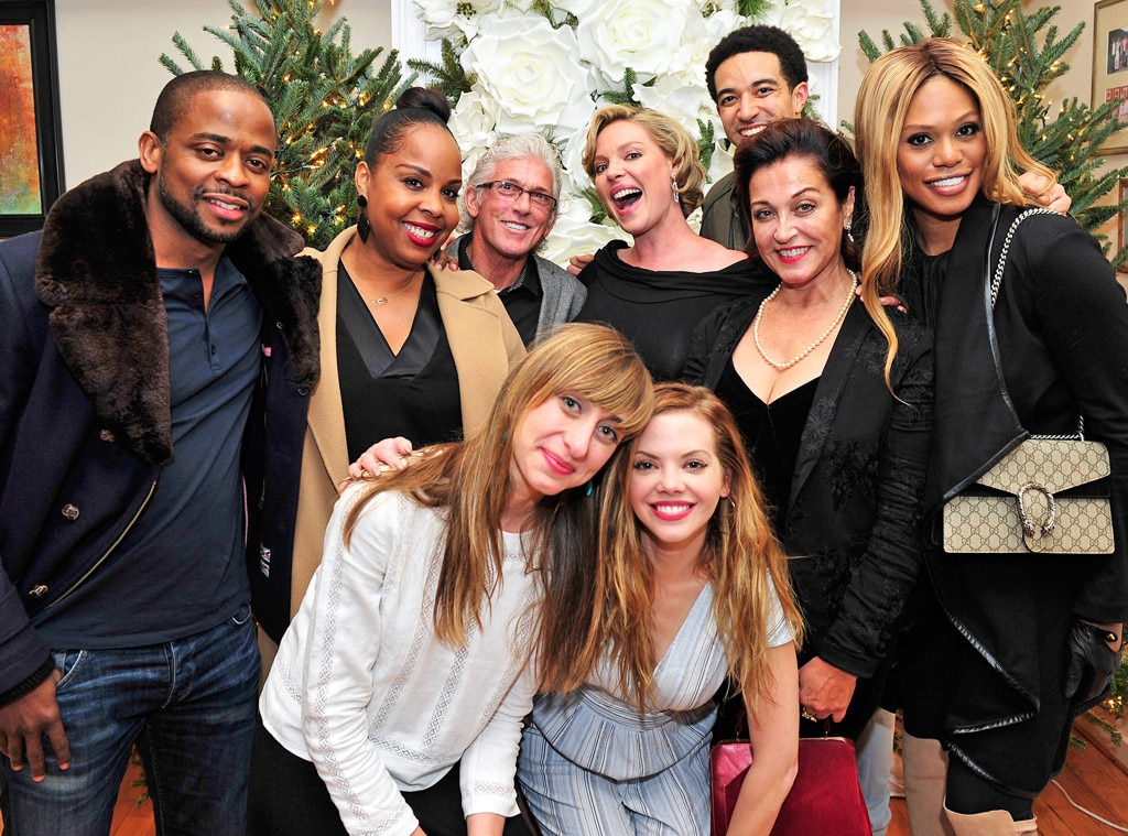Katherine Heigl, Laverne Cox, Baby Shower