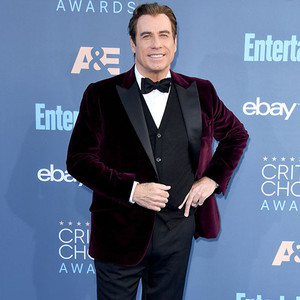22nd Critics' Choice Awards, Arrivals, John Travolta