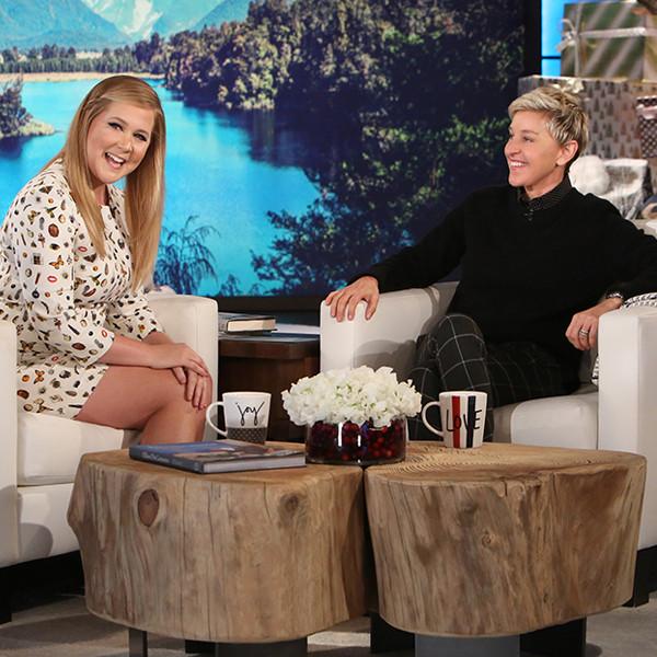 Amy Schumer, Ellen DeGeneres