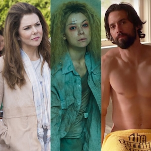 Golden Globes Snubs, Lauren Graham, Gilmore Girls, Tatiana Maslany, Orphan Black,  Milo Ventimiglia, This is Us