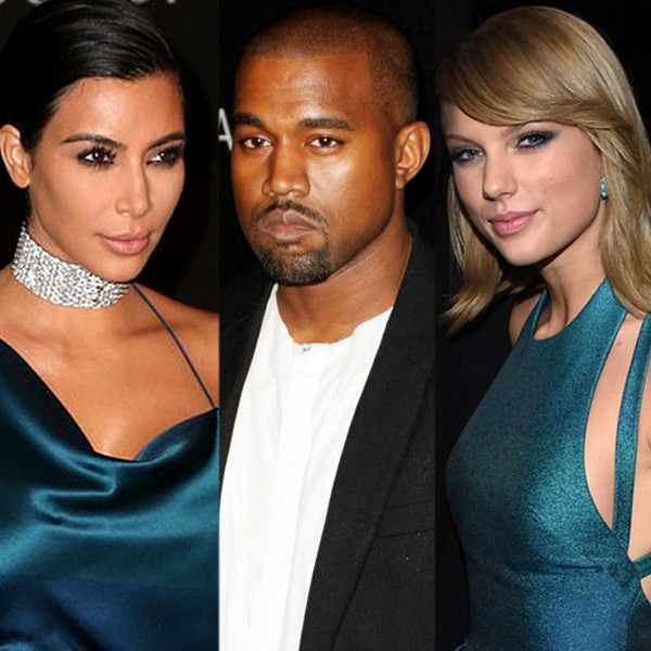Kim Kardashian, Taylor Swift, Kanye West, Chlose Moretz, Feud