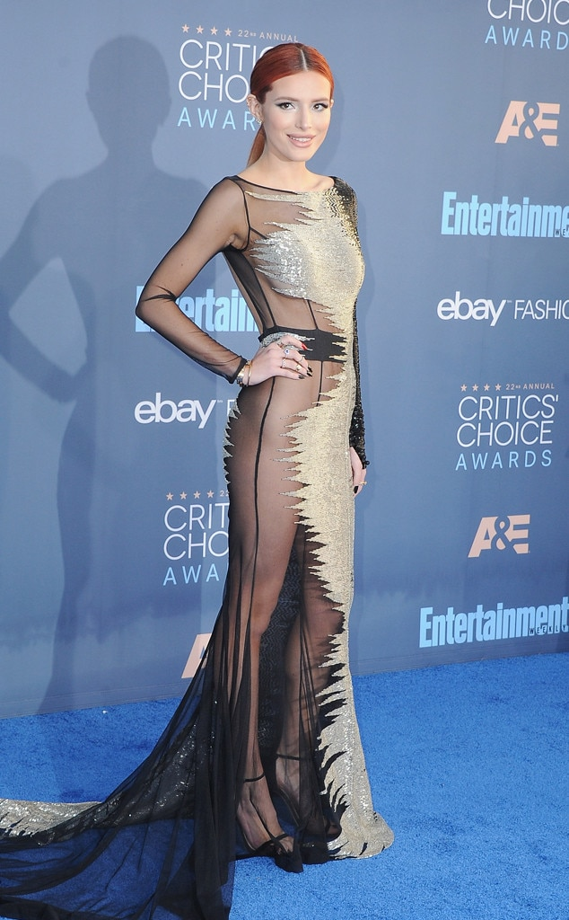 ESC: Critics Choice, Bella Thorne