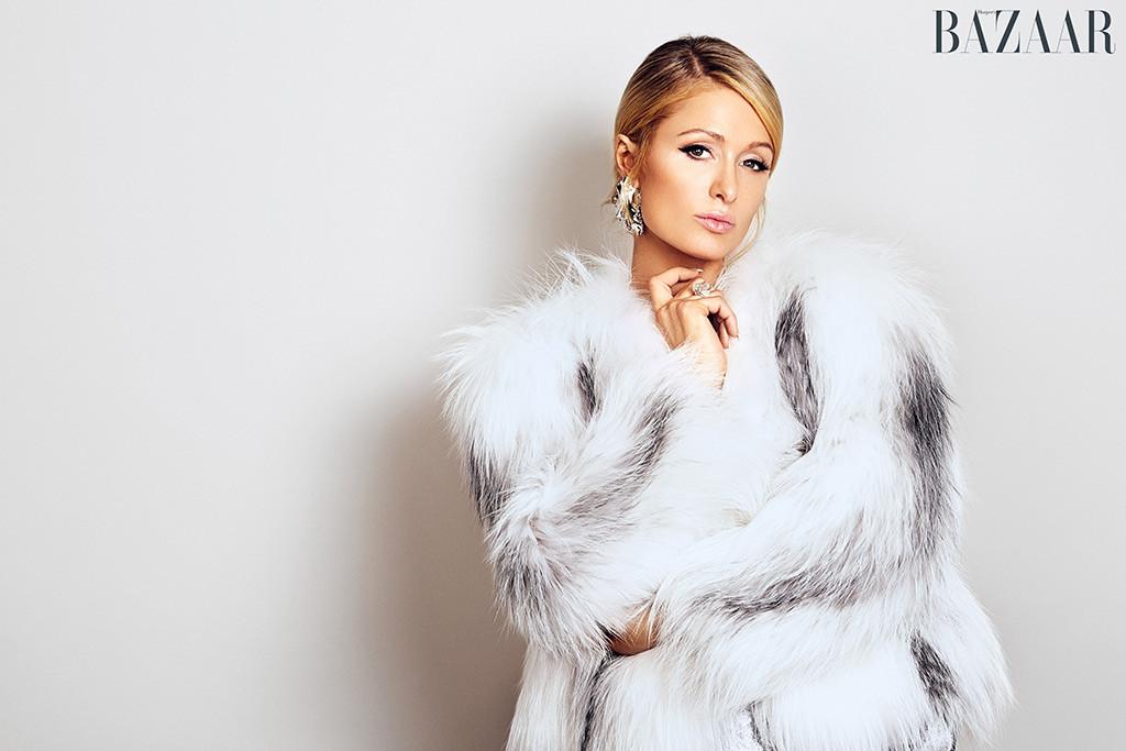 Paris Hilton, Harper's Bazaar