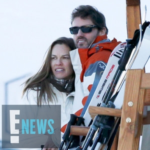 Hilary Swank, Philip Schneider, Exclusive