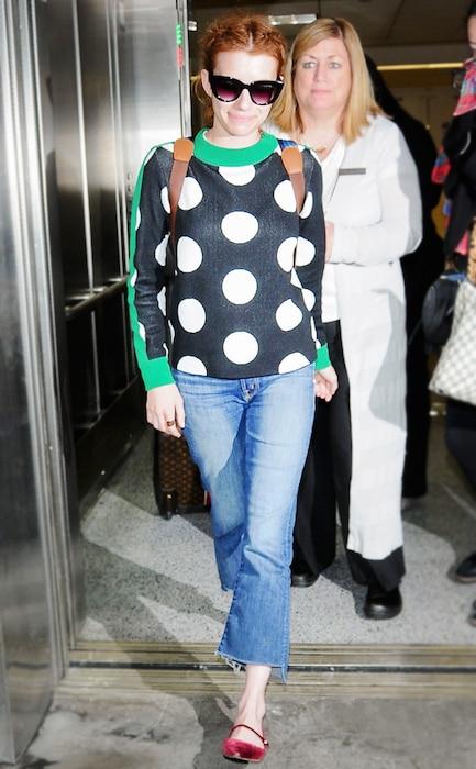 ESC: Ugly Sweaters, Emma Roberts