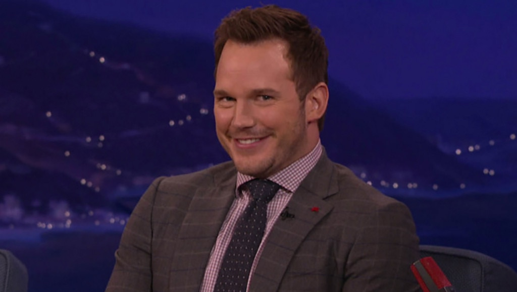 Chris Pratt, Conan O'Brien, Conan
