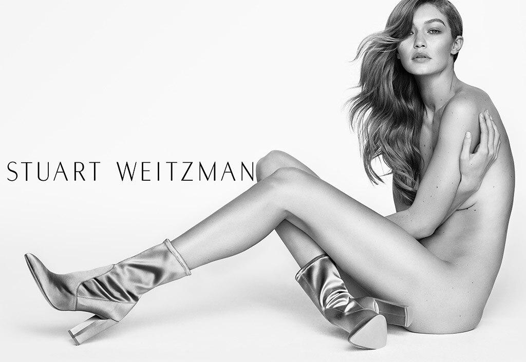 Gigi Hadid, Stuart Weitzman