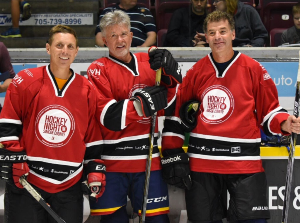 Alan Thicke, Hockey