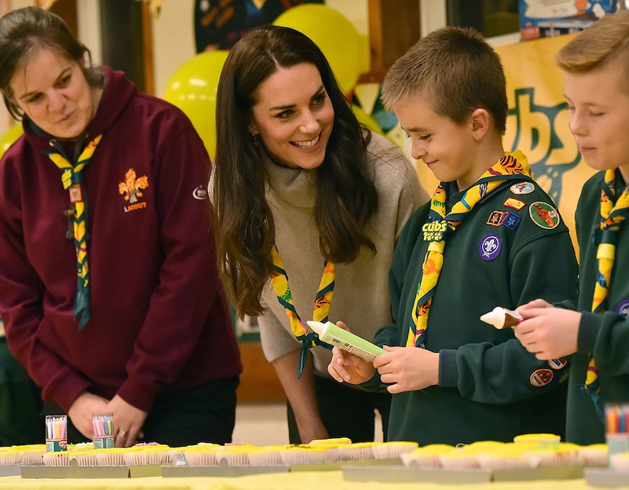 Kate Middleton, Cub Scout Meeting