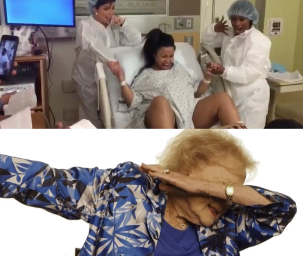Blac Chyna, Betty White. Most Overrated