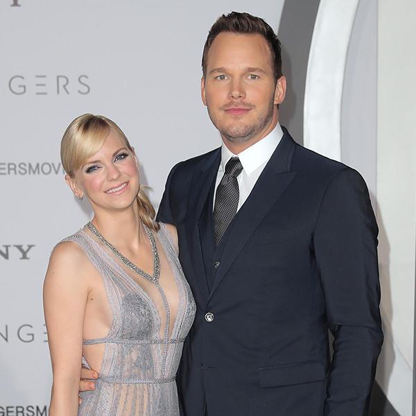 "Chris Pratt Upgrades Anna Faris' Wedding Ring: ""I'm Very, Very Lucky"""